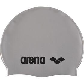 arena Classic Silicone Gorra, Plateado/gris